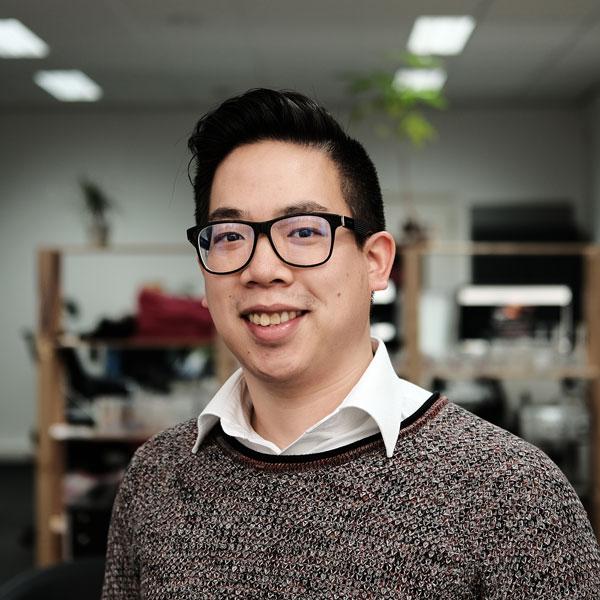 Harvey Chow medewerker