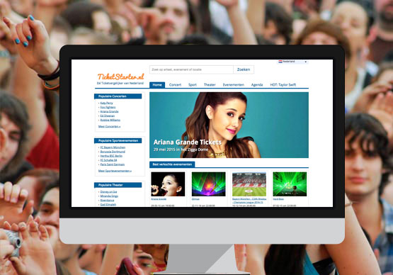 TicketStarter screenshot